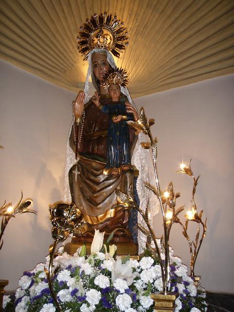 Resultado de imagen de vIRGEN MARIA DEL CASTELLAR