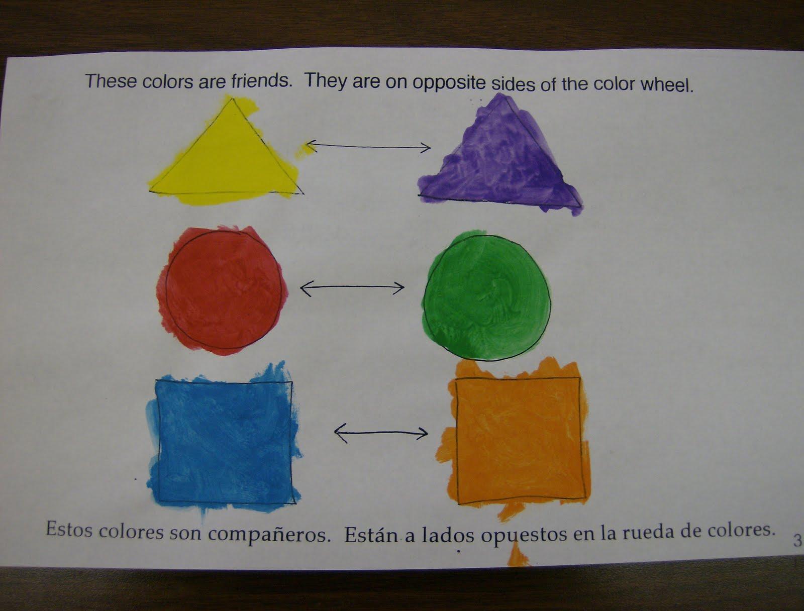 Zilker Elementary Art Class First Grade Color Books