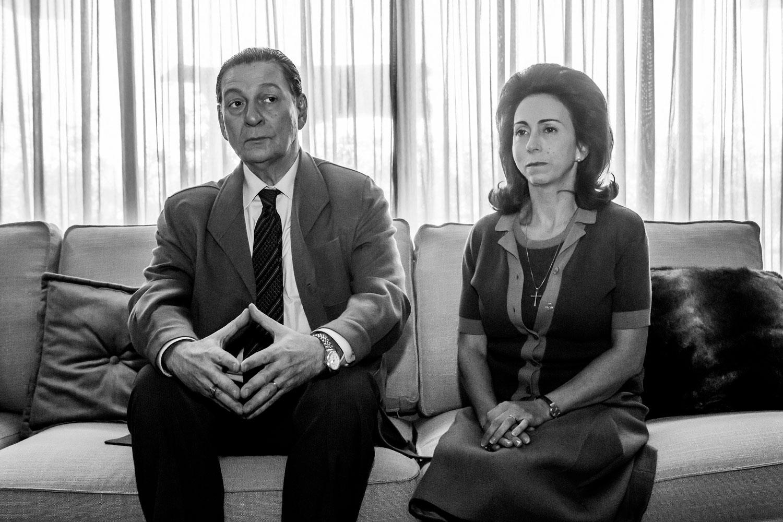 Arde Madrid - El matrimonio Perón