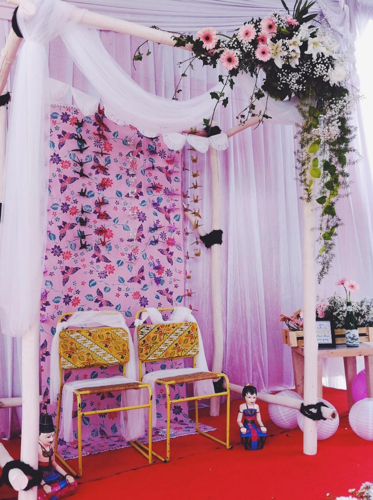 Desain Pernikahan Cara Membuat Dekorasi Pelaminan Sederhana