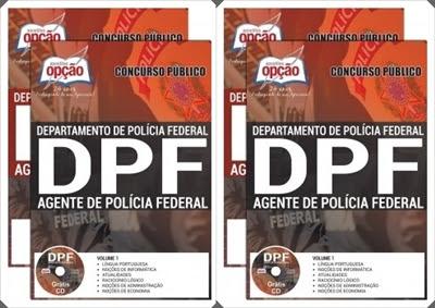 apostila concurso PF 2018 Agente de Polícia Federal.