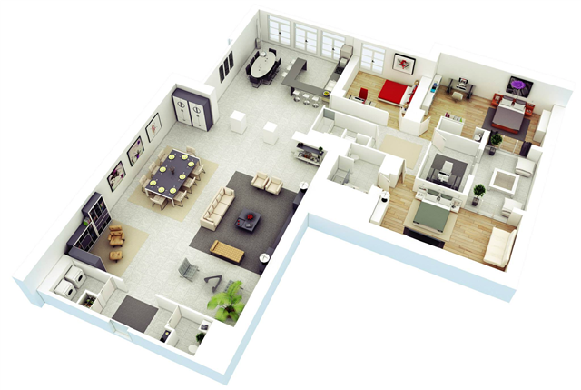 Design Rumah Indah Desain Rumah Bentuk L