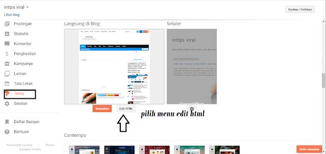 Cara memasukkan iklan page-level ads adsense di blog