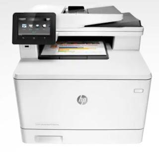 HP LaserJet Pro M477fnw Laser Printer Features