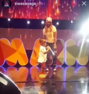 I don't want my son to do music – Tiwa Savage