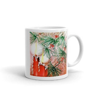 ceramic christmas coffee mug