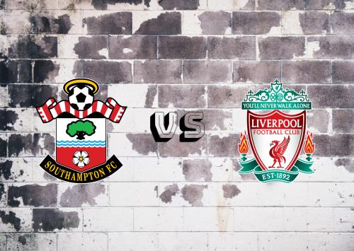 Southampton vs Liverpool  Resumen y Partido Completo
