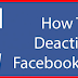 Facebook Deactivated Account
