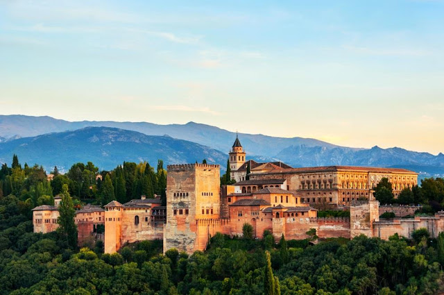 Alhambra Palace, Andalusia, Spain