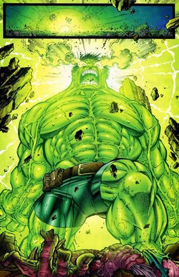 Hulk en su versión más poderosa y fuerte
