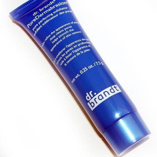 Exfoliante facial Poredermoabrasion de Dr. Brandt Birchbox Brasil