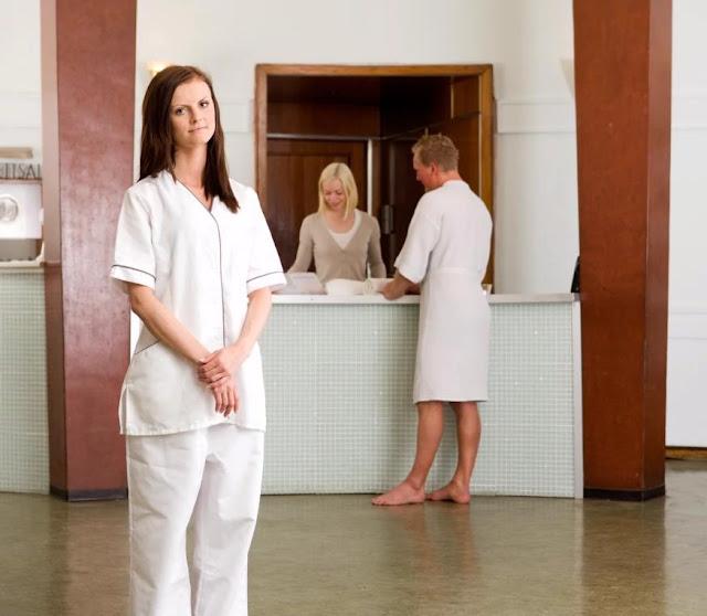 Lower back - massage therapist