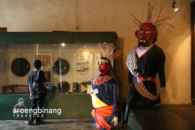 ondel-ondel betawi museum fatahillah jakarta