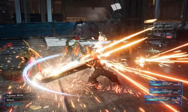 Final Fantasy VII Remake Gameplay
