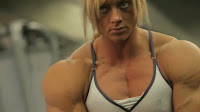 Female bodybuilders and very muscular women