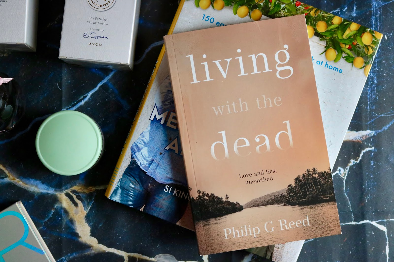 LIVING WITH THE DEAD BY PHILIP G REED