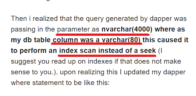 sp_executesql is slow with parameters
