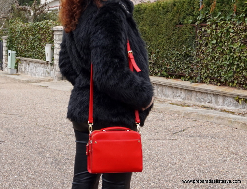 Bolso rojo lady