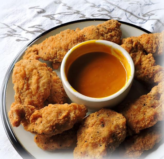 Chicken Strips with Honey Mustard Dip