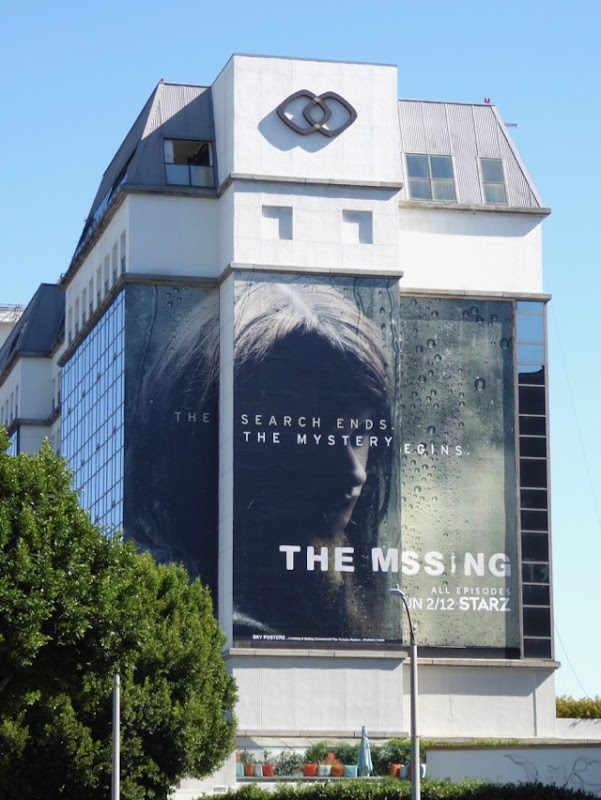 Missing season 2 giant billboard