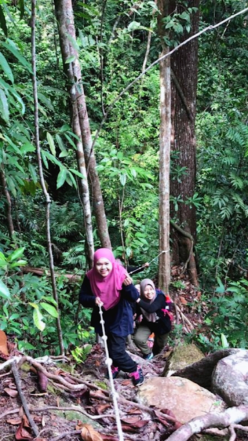 Hiking Bukit Leila Sandakan