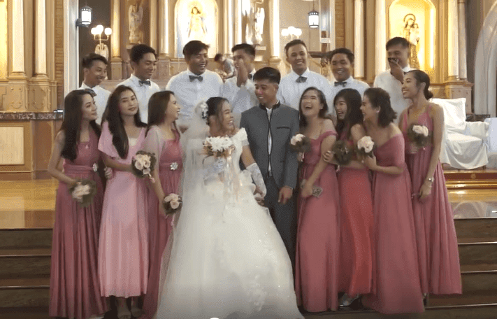Groom's accidental 'sweet moment' with bridesmaid during photoshoot goes viral