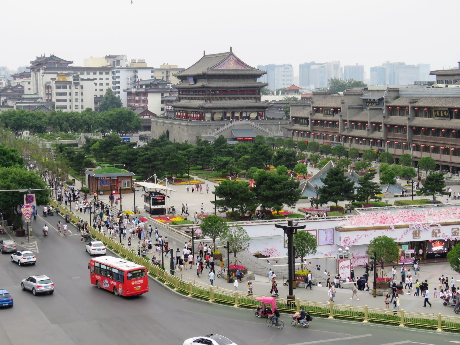 7 Days Inn Xian Bell Tower Brach Things To Do In Xian China After Visiting The Ancient Terracotta