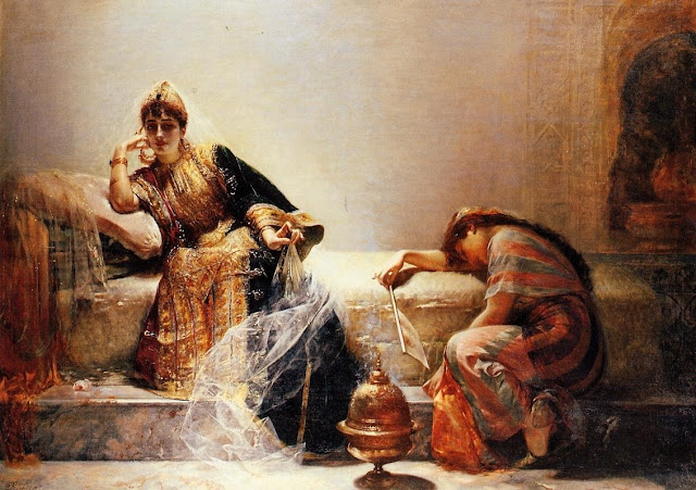 Edouard Frederic Wilhelm Richter - Scherehezade - s. XIX