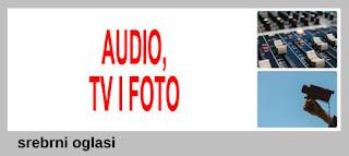 5 - PRODAJA AUDIO, TV, FOTO TEHNIKE SREBRNI OGLASI
