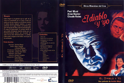El Diablo y Yo | 1946 | Angel On My Shoulder | DvD Cover, Caratula