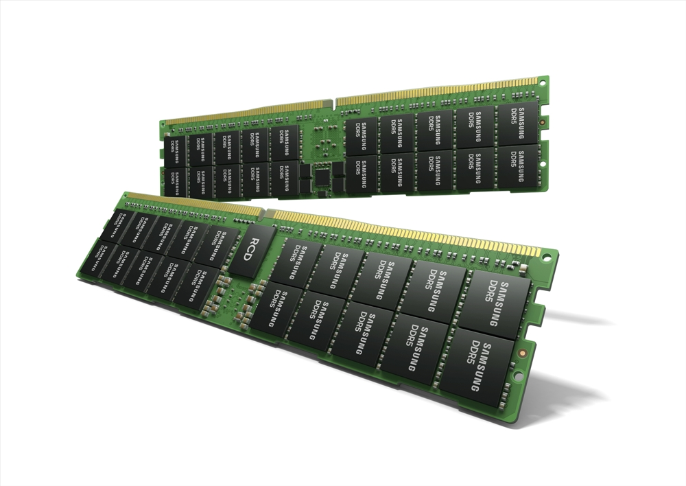 삼성전자, HKMG 공정 512GB DDR5 메모리 모듈 개발
