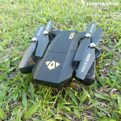 Review Drone Visuo Alternatif Dji Mavic Versi Murah
