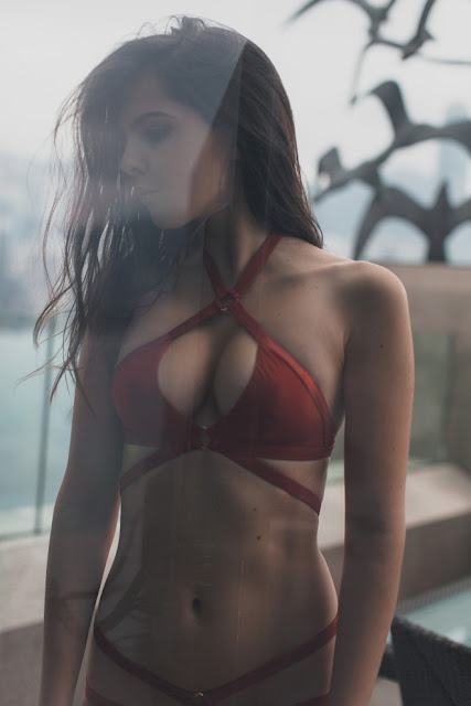 Doina Ciobanu – Agent Provocateur Swimwear Photoshoot