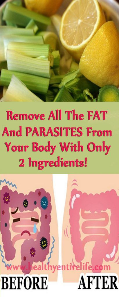 This 2 Ingredients Mixture Will Remove All The Fat And Kill Parasites From Your Body