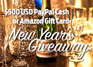 WIN $500 PayPal Cash or Amazon Gift Card (3 Winners)