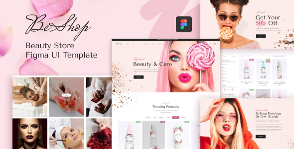 Best Beauty Store Figma UI Template