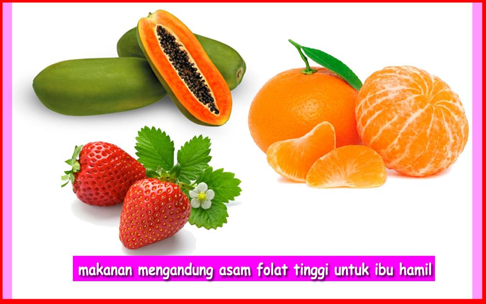 Makanan Mengandung Asam Folat Tinggi Untuk Ibu Hamil ...