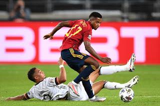 Barcelona winger Ansu Fati becomes Spain's youngest goalscorer