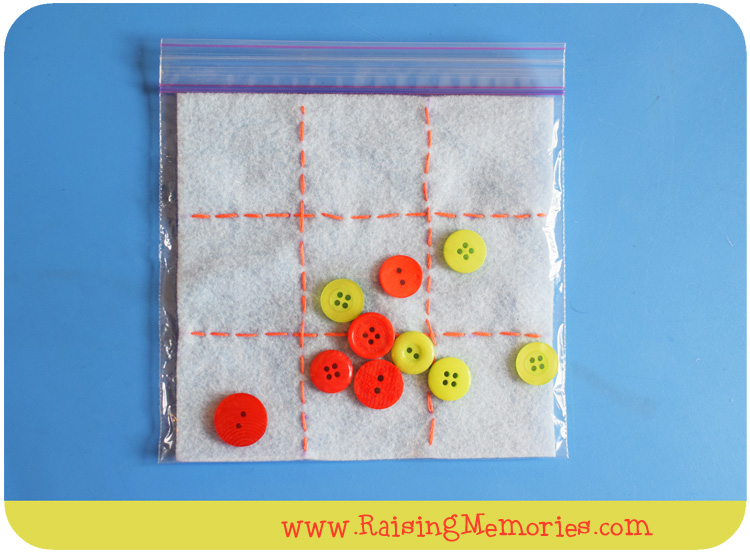 How to Sew a Simple Tic Tac Toe Game with Buttons!