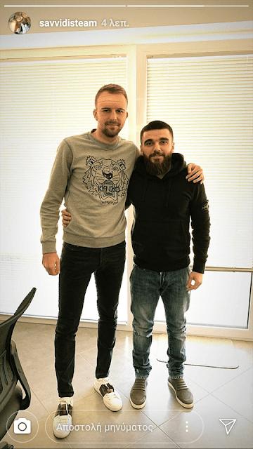 Στα γραφεία του ΠΑΟΚ μαζί με τον Σαββίδη ο Μίσιτς