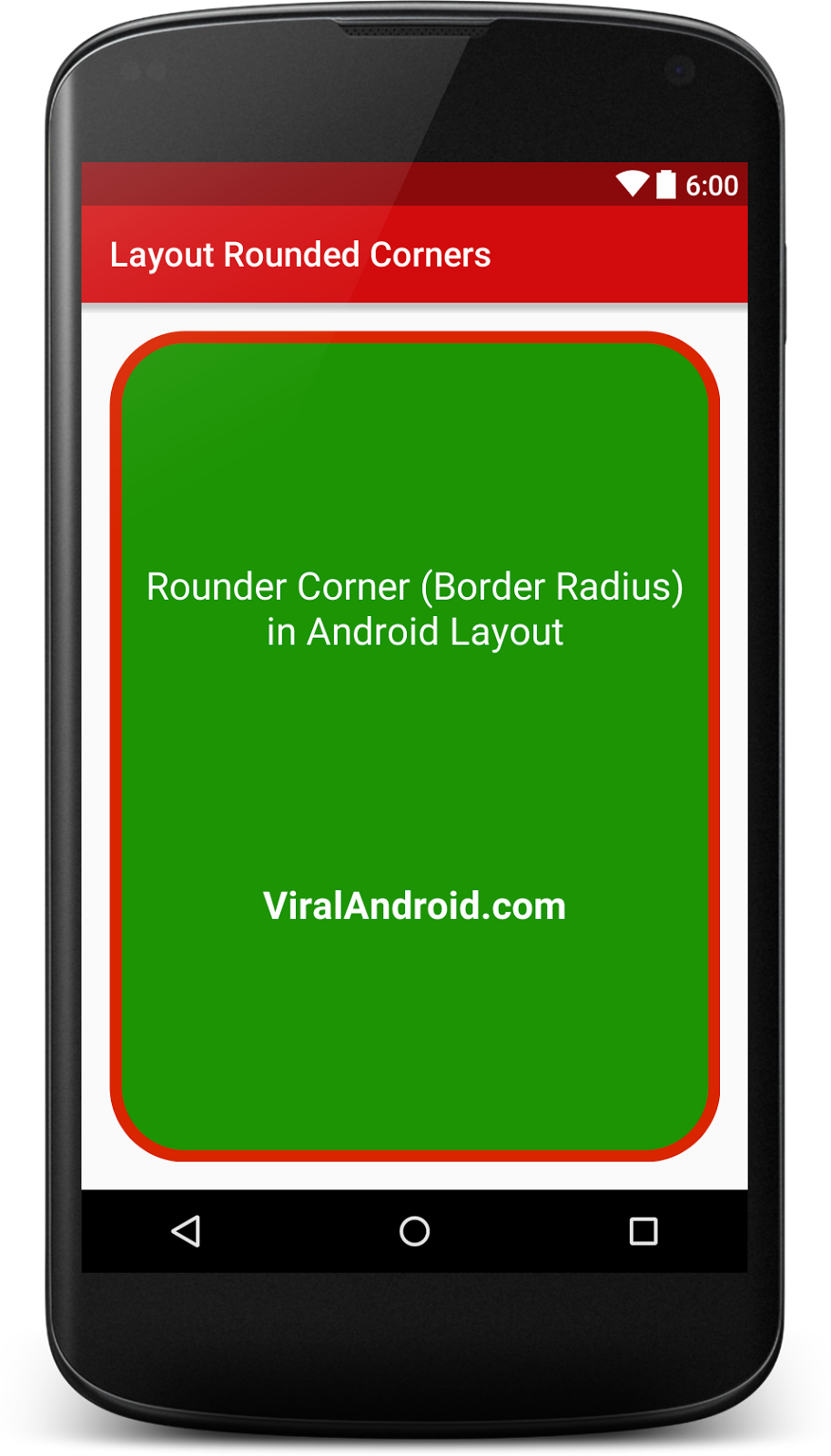 How to Make Rounded Corners in Android Layout