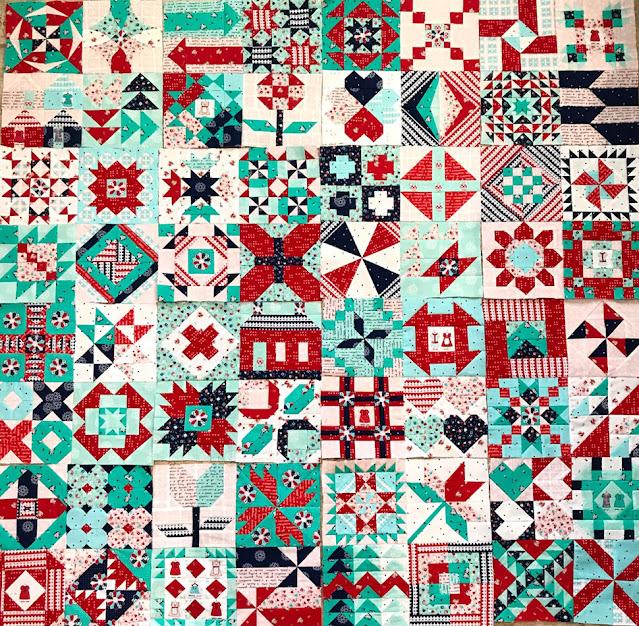 Moda Block Heads 3 Blocks by Thistle Thicket Studio. www.thistlethicketstudio.com