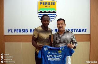 Persib Bandung Resmi Rekrut Erick Weeks
