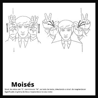 Sinal de Moisés da bíblia