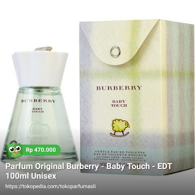 burberry baby touch edt 100ml unisex