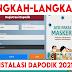 Langkah-langkah Instal Aplikasi Dapodik Versi 2021