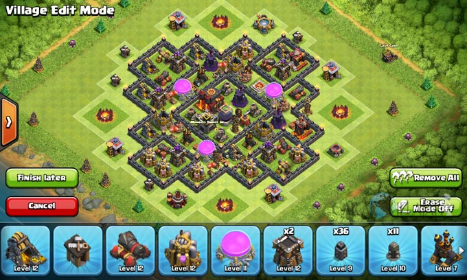 Susunan Formasi Base War TH 8 Update Terbaru 5