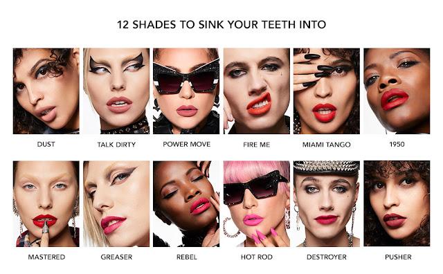 Le Monster Matte Lip Crayon, makeup, lipstick, Lady Gaga lipstick