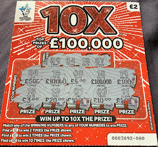 £2 10X Scratchcard