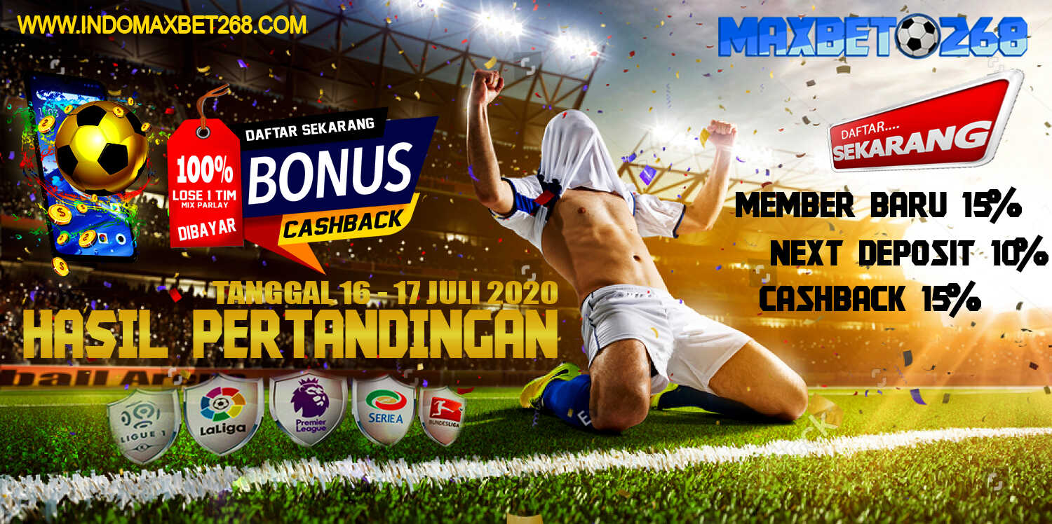 Hasil Pertandingan Sepakbola Tanggal 16 - 17 Juli 2020